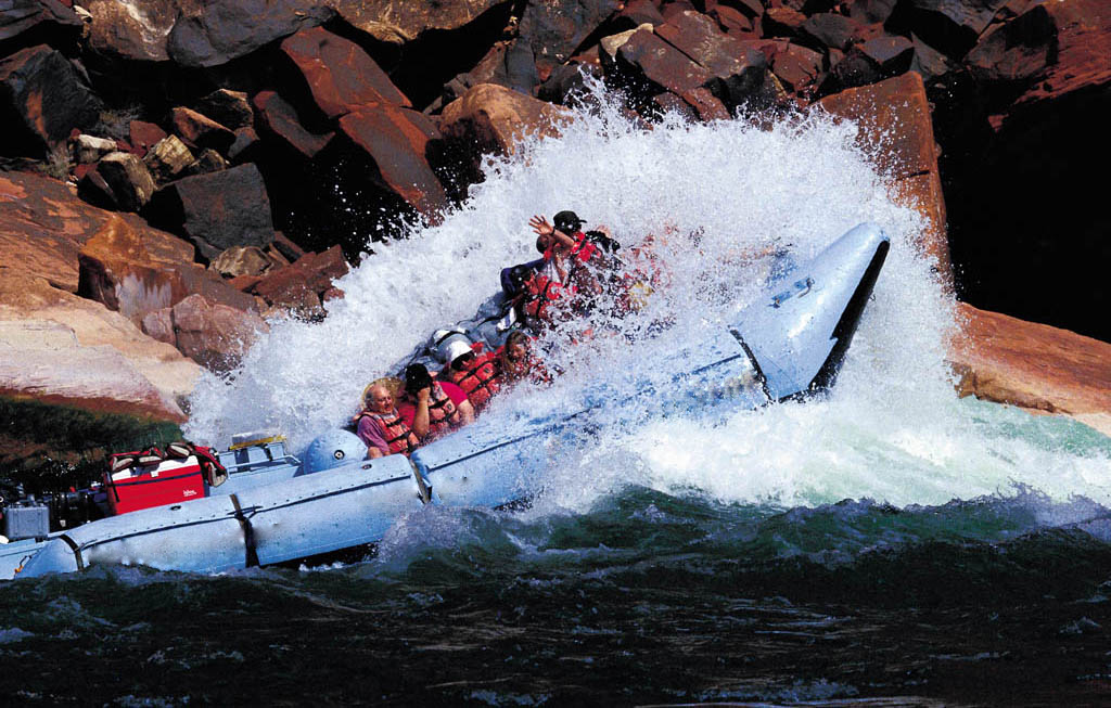 Colorado River White Water Rafting Tour
